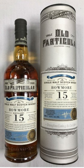Old Particular Bowmore 15 Years