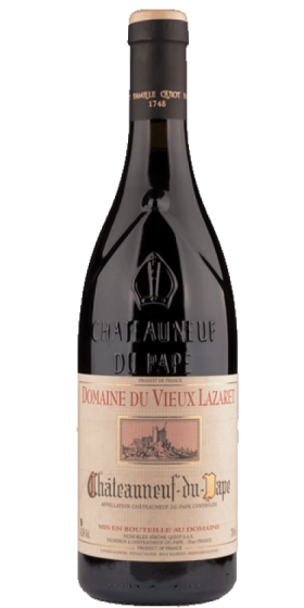 Jerome Quiot Chateauneuf Lazaret Rouge 2014